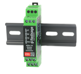 C01 MBus 10 to Passive RS232 Converter 1kV DC Isolation