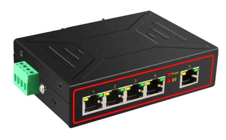 S01 5 Port Ethernet 10/100/1000MB RJ45 Unmanaged Switch